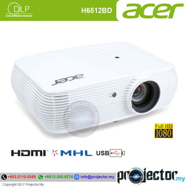 Acer H6512BD Full HD Projector