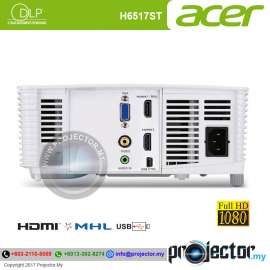 Acer H6517ST Short Throw Projector