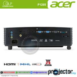 Acer P1285 Essential DLP Projector