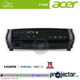 Acer P1286 Essential DLP Projector