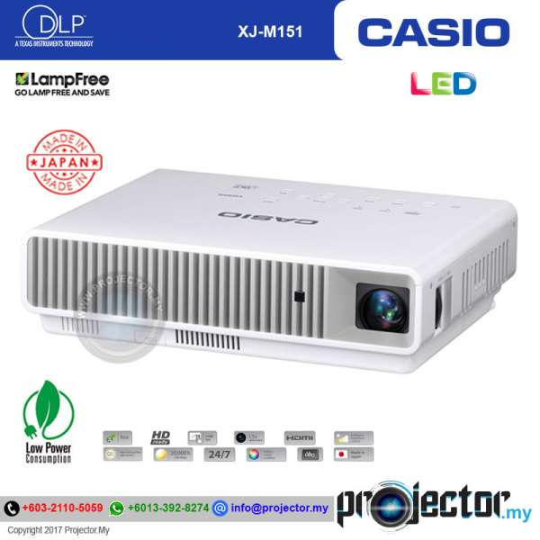 Casio XJ-M151 LED Laser Projector