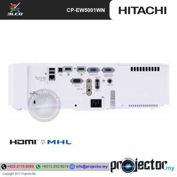 Hitachi CP-EW5001WN WXGA Projector