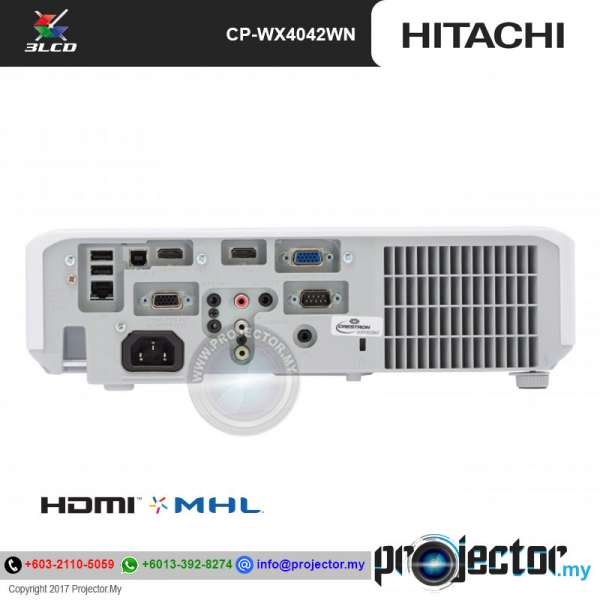 Hitachi CP-WX4042WN Projector