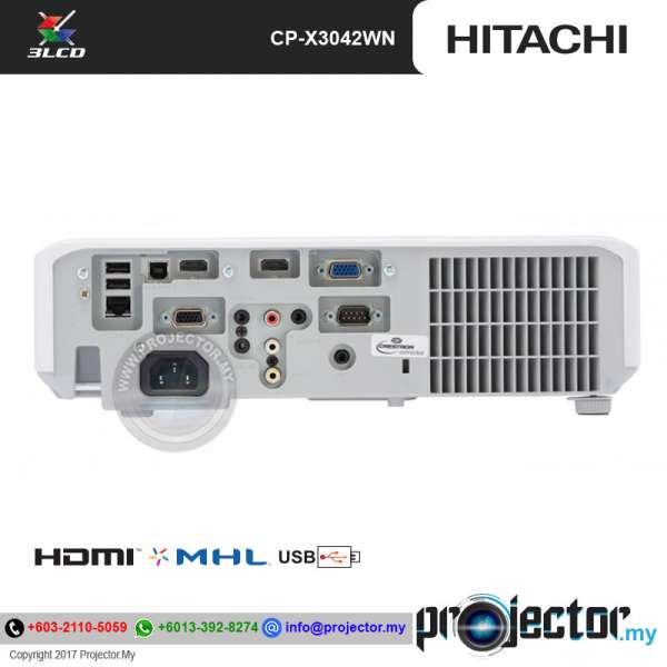 Hitachi CP-X3042WN XGA Projector