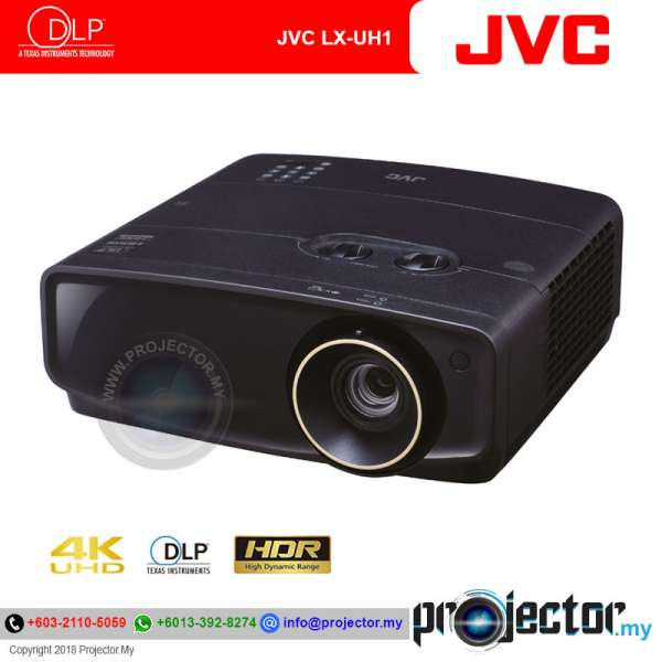 JVC LX-UH1 4K UHD/HDR Home Theater Projector