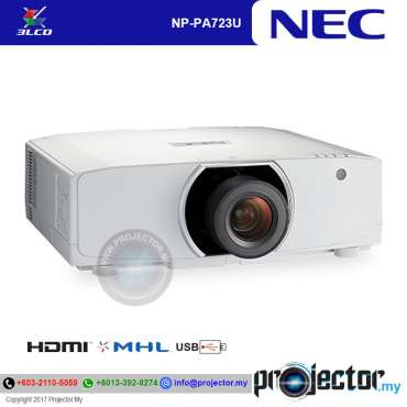 Nec NP-PA723UG Installation Projector