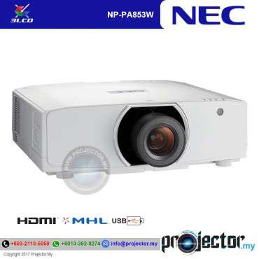 Nec NP-PA853WG Installation Projector