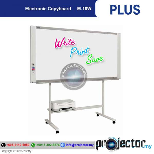Plus Electronic Whiteboard /Copyboard M-18W