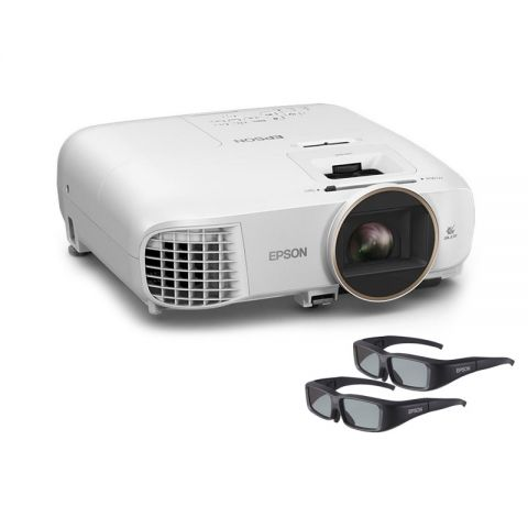Epson EH-TW5650 Full HD 3D Projector-With 2 Pairs 3D Glasses